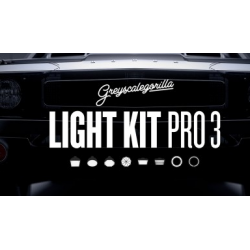 Suite Light Kit Pro 3 de Greyscalegorilla.