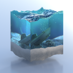 Cross Section Liquid by REDSHIFT