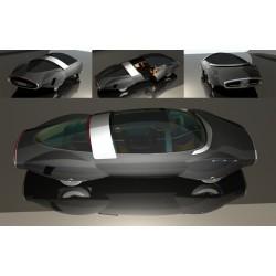 Concept Cars by John Houlihan. Créé avec Xenon.