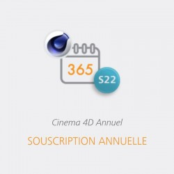 CINEMA 4D S22 Abonnement 1 an