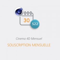 CINEMA 4D S22 Abonnement 1...