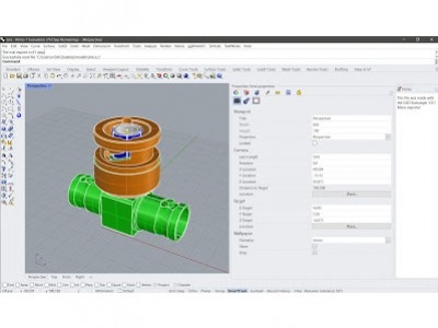 CAD EXCHANGER Plug-in d'importation pour Rhino